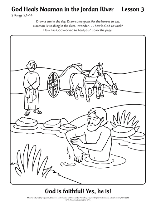 Coloring Pages Lesson Tabs Leader Devotions