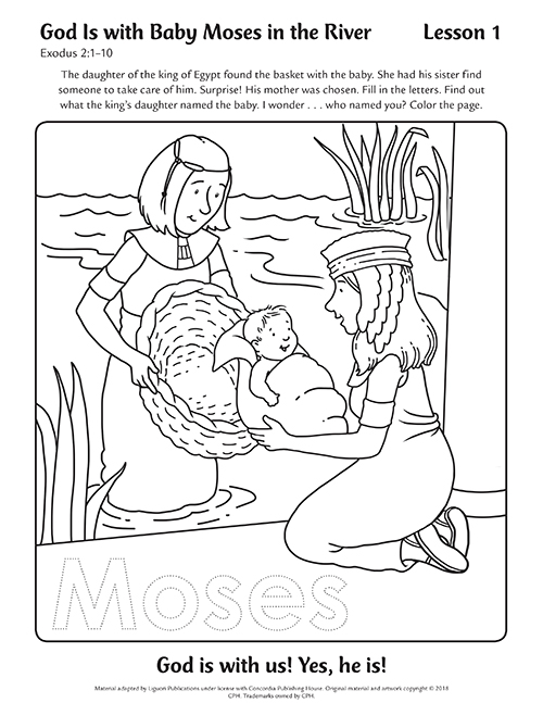 Coloring Pages Day 1
